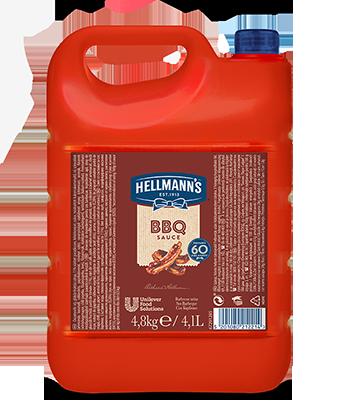 Hellmann's BBQ Umak za roštilj 4,8 kg - Hellmann's nudi umak za roštilj savršene teksture i karakterističnog okusa, za topla i hladna jela.