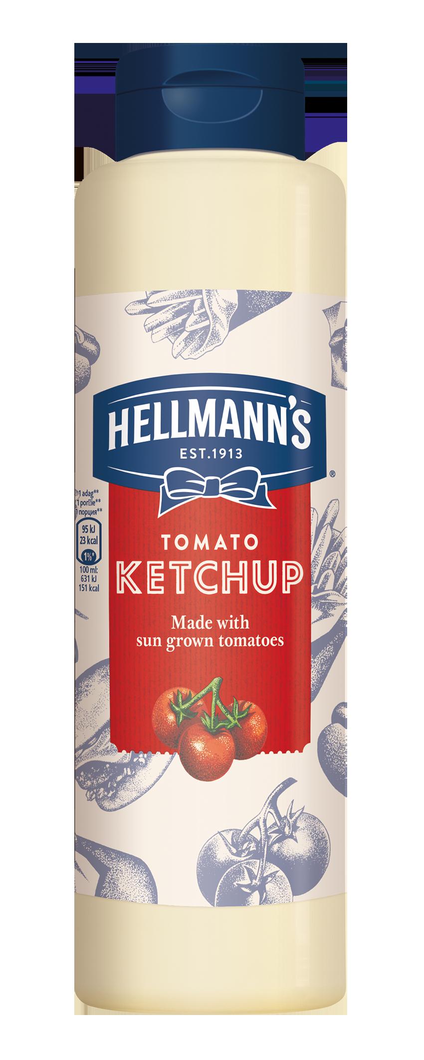 Hellmann's Ketchup 856 ml - Pokažite kvalitetu svojim gostima