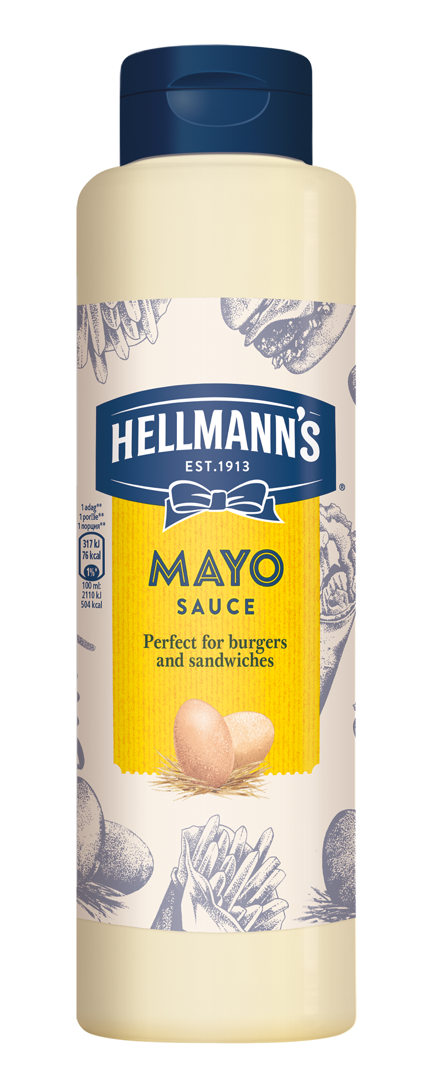 Hellmann's umak tipa majoneze 850 ml - Pokažite kvalitetu svojim gostima