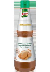 Knorr Professionalna tekući kokošji temeljac 1 l - Istakni okus bez pojačivaća okusa i umjetnih bojila.