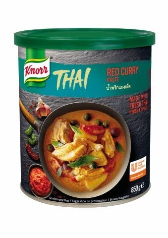 Knorr Red Thai-Curry začinska pasta 850 g -