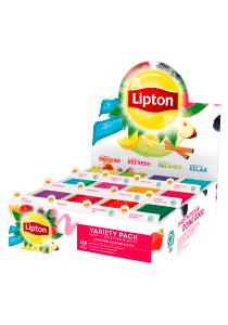 Lipton MIX BOX 12 x 15 - Na raspolaganju su različiti čajevi Lipton: biljni, crni, zeleni i voćni.